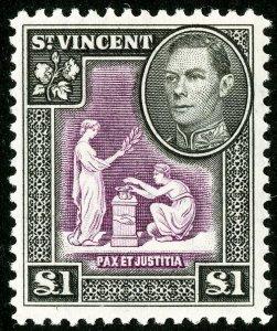 St Vincent Stamps # 151 MLH VF