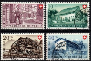 Switzerland #B183-6  F-VF Used  CV $10.15 (X2868)