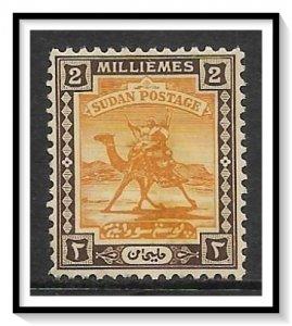 Sudan #30 Camel Post NG
