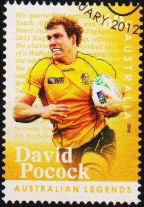 Australia. 2012 60c Fine Used