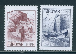Faroe Islands 697-8  MNH