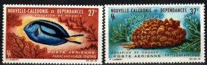 New Caledonia #C36-7  MNH CV $16.50 (X2370)