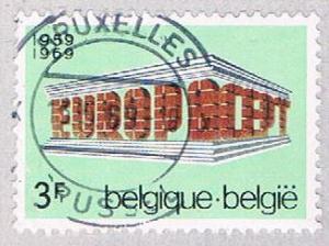 Belgium 718 Used Europa Issue 1969 (BP1701)