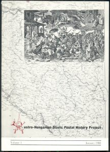AUSTRO-HUNGARIAN-SLAVIC POSTAL HISTORY PROJECT SOFT COVER BOOK, VOLUME 1