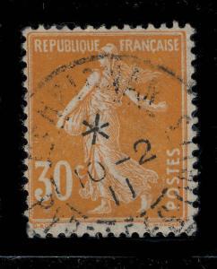 FRANCE - 1911 - CàD PERPIGNAN / PYRENEES ORles sans levée (étoile) sur n°141