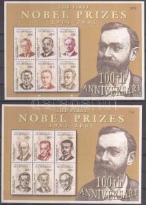 Micronesia stamp Centenary of the Nobel Prize minisheet set MNH 2001 WS126504