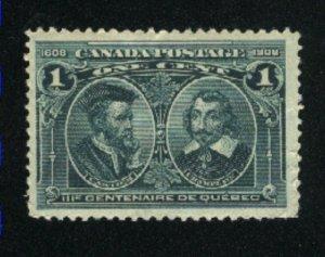 Canada 97  Mint VF 1908   PD