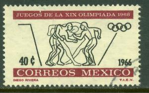 MEXICO 975, 40c 2nd Pre-Olympic Issue - 1966 USED (436)