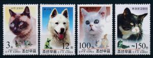 [32615] Korea 2002 Animals Cats MNH