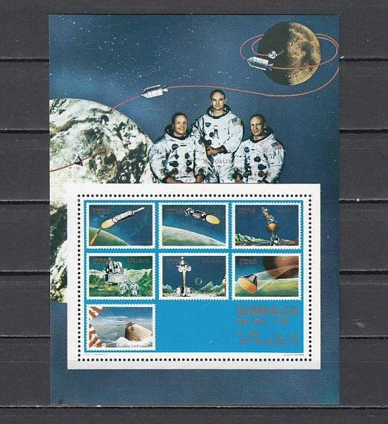 Somalia, 1999 Cinderella issue. Space s/sheet.
