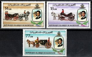 Mauritania #480-82  MNH  CV $4.10 (X2680)