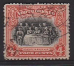 North Borneo Sc#170 Used