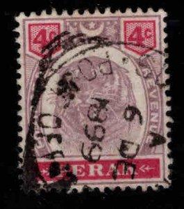MALAYA Perak Scott 50 Used Tiger stamp