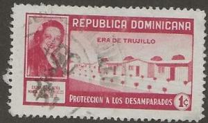 DOMINICAN REPUBLIC SC #   RA31  USED