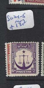 PAKISTAN  (P1009B)  9P  SG 24-5   MOG
