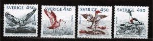 J22904 JLstamps 1992 sweden set mnh #1975-8 water birds