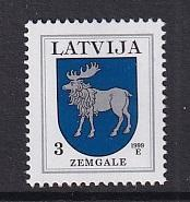 Latvia   #365a  1999   MNH   3s  Arms  Zemgale   1999