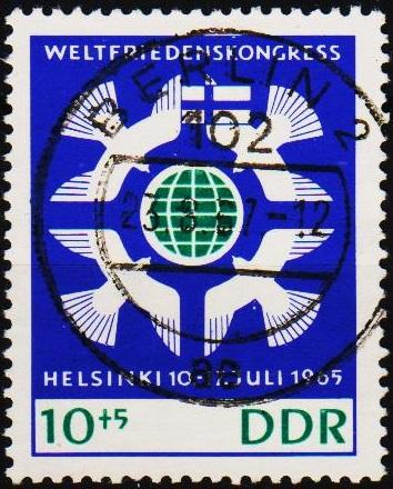 Germany(DDR).1965 10pf+5pf S.G.E840 Fine Used