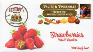 20-166, 2020, SC 5491, Fruits & Vegetables, FDC, Digital Color Postmark