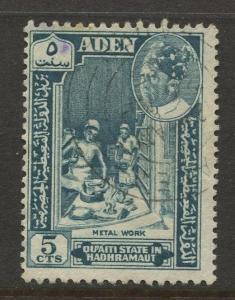 STAMP STATION PERTH Hadhramaut #41 Definitive Issue 1963 FU  CV$1.75