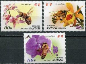 Korea 2013. Bees (MNH OG) Set of 3 stamps