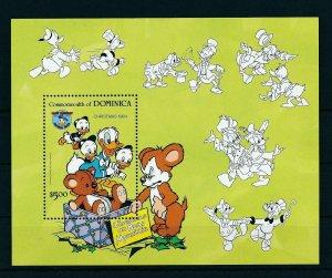 [22201] Dominica 1984 Disney Characters, Christmas MNH