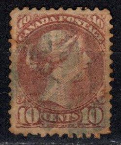 Canada #40  F-VF Used CV $27.50 (X5685)
