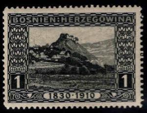 Bosnia Herzegovina Scott 46 MNH** oblique crease