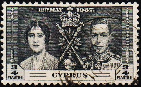 Cyprus.1937 3/4pi S.G.148 Fine Used