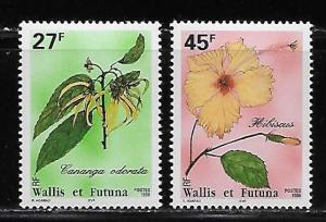 Wallis and Futuna Islands 478, 480 Local Plants part set MNH