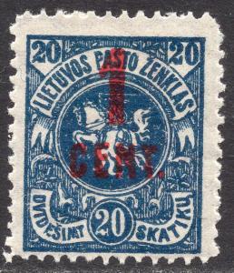 LITHUANIA SCOTT 138