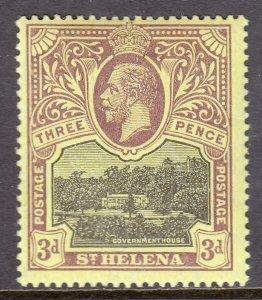 St. Helena - Scott #66 - MH - SCV $4.25