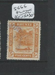BRUNEI (PP1701B)  5C  SG 66   TEMBURONG   CDS     VFU