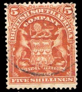 Rhodesia Scott 69 Used.