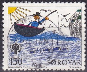 Faroe Islands #46 F-VF Used