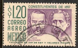MEXICO C237, $1.20P CENTENARY of Constitution. Used. VF. (1101)