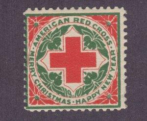 US Sc WX6 MNH. 1910 Christmas Seal, small corner crease, fresh.