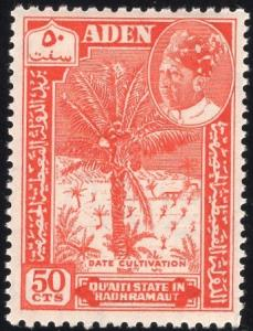 Aden 46 - Mint-NH - 50c Date Cultivation (1963)