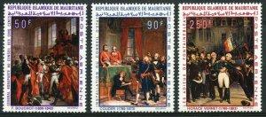1969 Mauritania 360-362 Painting Napoleons 13,00 €
