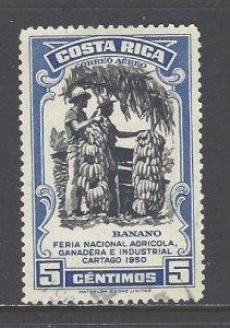 Costa Rica Sc # C200 used (RRS)