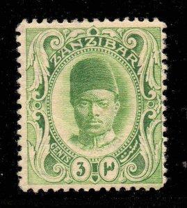 Zanzibar 1908  3c wmk upright SG 226 mint