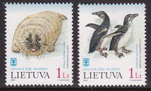 Lithuania, Fauna, Animals, Birds MNH / 2000