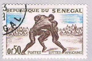 Senegal 202 Used Wrestlers 1961 (BP29915)