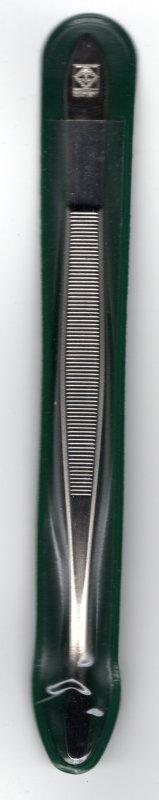 TWEEZERS 52. LUXUS. BENT SPADE (15CM)