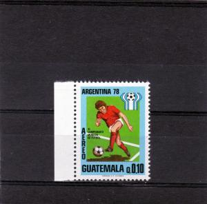 Guatemala 1978 Soccer World Cup set (1) Perforated mnh.vf