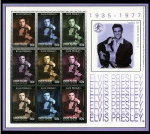 VINCENT GRENADINES SHEET ELVIS PRESLEY