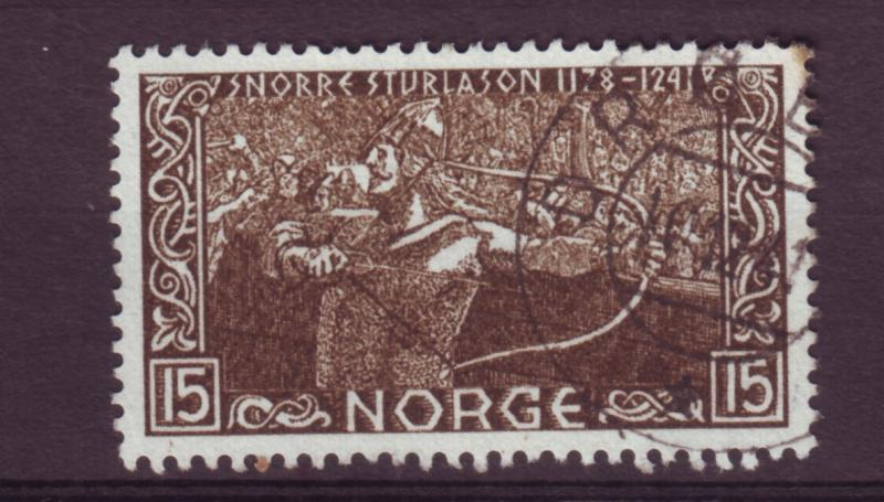J12677 JLstamps 1941 norway from a set used #241