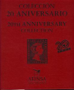 Afinsa:    20th Anniversary Collection, Afinsa - Oct. 12,...