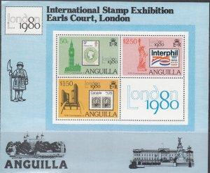 Anguilla, SW389-SW391, MNH, 1980, London 80