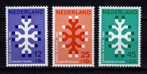 Netherlands 1969 20th Anniversary of Queen Wilhelmina Cancer Fund Set [Unused]